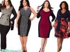 Какую одежду лучше носить полным женщинам ?