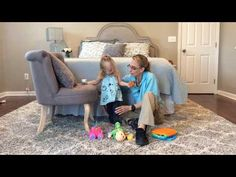 #104 Getting down from Standing: Exercises for a Baby with Low Tone - YouTube