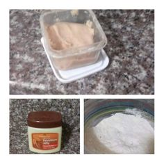 DIY Scar putty/ wax: •Petroleum Jelly •All-purpose flour Mix petroleum jelly and…