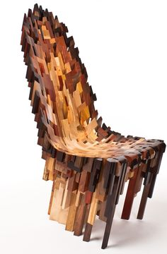 The Roccapina V chair by Yard Sale Project