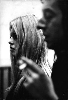 Mr. Serge Gainsbourg and Ms. Brigitte Bardot.