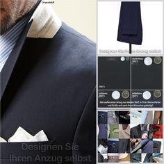 Marlane Anzug (nach Ihren Wünschen gefertigt) alle Größen, 3 Farben, Schurwolle | eBay  zu finden in unserem eBay-Shop unter http://stores.ebay.de/jkkonfektion  In unserem Shop bieten wir Ihnen die größte Auswahl an Anzügen und Sakkos die Sie in Ebay finden werden. Sie haben die Möglichkeit den Stoff, den Schnitt, die Form, alle Ausstattungsdetails für Ihren Anzug oder Ihr Sakko selbst zu wählen. In jeder Größe! Ganz individuell - einfach einzigartig!