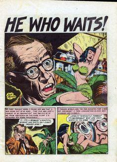 Art by Jack Kamen. From Weiord Fantasy #15 (September–October 1952)