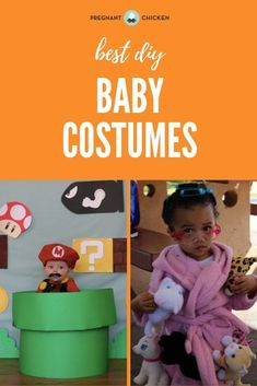 These are the best halloween costumes for babies and newborns including DIY costumes, family costumes, stroller and wagon ideas for both boys and girls. Some are easy, some are funny, but all of them are scary good!