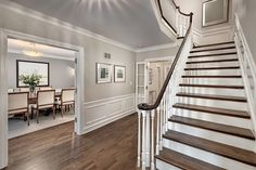 New interior color scheme Benjamin Moore Edgecomb Gray: Color SpotlightThe Creativity Exchange - want this for foyer/upper hall Grey Paint Colors, Room Paint Colors, Paint Colors For Home, House Colors, Gray Color, Hallway Paint Colors, Warm Gray Paint, Most Popular Paint Colors, Living Room Paint