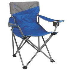 Coleman Big-N-Tall Quad Camping Chair Feature. Extra-large camping chair provides ample space for lounging. Coleman Camping Chairs, Folding Camping Chairs, Folding Chairs, Quad, Big N Tall, Camping Set Up, Camping Tools, Camping Products, Family Camping