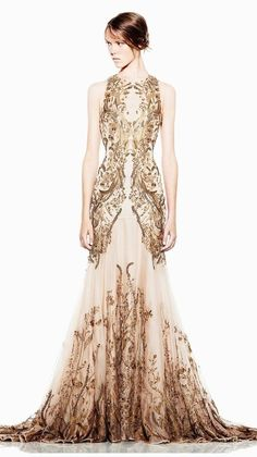 Alexander McQueen Spring Summer 2012 collection | Alexander McQueen