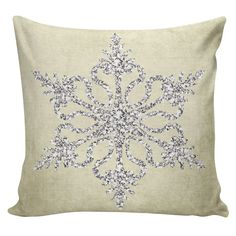 Holiday Pillow Cover Christmas Sparkle by ElliottHeathDesigns