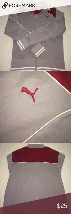 Puma Jumper Men's med puma track suit jumper NO PANTS Puma Jackets & Coats Lightweight & Shirt Jackets