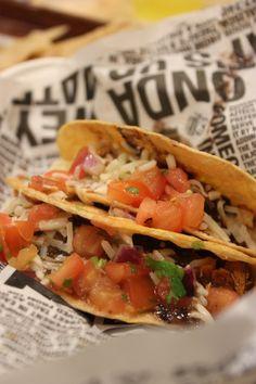 Tacos at Guzman Y Gomez
