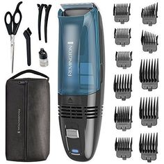 Remington Cordless Vacuum Haircut Kit, Vacuum Beard Trimmer, Hair Clippers for Men pieces) * Check this awesome product by going to the link at the image. (This is an affiliate link) Crew Cut Haircut, Fade Haircut, Men's Crew Cut, Crew Cuts, Types Of Fades, Military Haircuts Men, Hc Hair, Remington Hair, Clipper Cut
