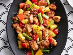 Ditch the take out menu! If you're craving a Chinese menu staple, why not give our sweet and sour pineapple chicken recipe a try. We promise you'll love it.
