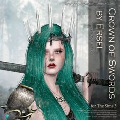 Crown of Swords by Ersel - Sims 3 Downloads CC Caboodle