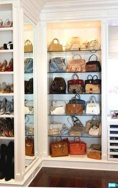 Inside BH Housewife Yolanda's ginormous walk-in closet