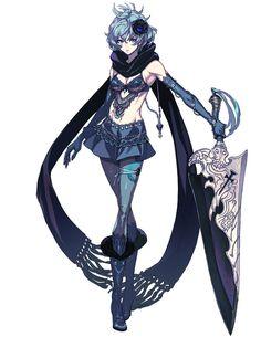 Two - Characters & Art - Drakengard 3