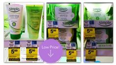 Simple Moisturizing Facial Wash and Wipes, Only $0.75 Each at Rite Aid!