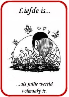 spreuken liefde is Love Is Comic, Am In Love, Feeling Loved, Love Your Life, Wedding Pictures, You And I, Love Quotes, Cartoons, Shit Happens