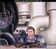 Detroit Industry-19,  1932-33 - Diego Rivera - www.diego-rivera-foundation.org