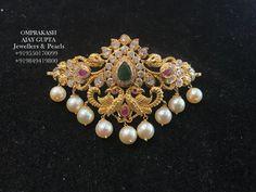 Simple Elegant Two-in-One Design (Choker or Bajubandh)! Jewelry Design Earrings, Gold Earrings Designs, Gold Jewellery Design, Necklace Designs, Gold Designs, Ruby Jewelry, Jewelry Model, India Jewelry, Mehndi Designs