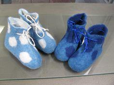 Babyfilzschuhe Ursula Pauly  felt shoes clothing