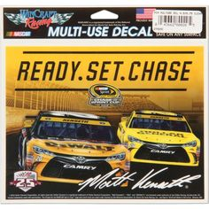 "Matt Kenseth WinCraft 2016 Chase for the Sprint Cup 5.75"" x 5"" Multi-Use Decal - $3.99"