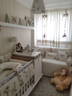Nursery Layout, Nursery Room Decor, Baby Bedroom, Baby Boy Rooms, Small Space Nursery, Small Nurseries, Baby Room Design, Toddler Rooms, Spare Room