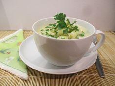 Karfiol krémleves - krumplival sűrítve - Háztartás Ma Tea Cups, Tableware, Dinnerware, Tablewares, Dishes, Place Settings, Cup Of Tea