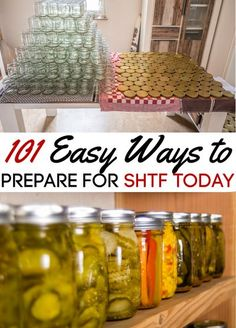 Preparing for SHTF is not a one and done thing for your family. It is a lifestyle that should be worked on daily. If you need to get caught up, these 101 easy ways to prepare for SHTF today are a great place to start! Ways To Save Money, Money Saving Tips, Kids Survival Skills, Emergency Preparation, Natural Living, Simple Living, Finance Blog, Disaster Preparedness, Shtf