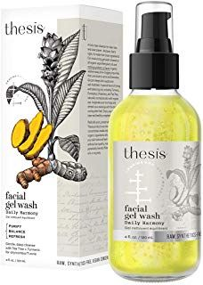 Enjoy exclusive for Thesis All Natural Organic Facial Wash - Daily Harmony - Cleanser Oily, Combination, Problem Skin online - Toplikestylish Organic Facial, Organic Makeup, Travel Curling Iron, Tea Tree Therapy, Oil For Dry Skin, Oil Light, Face Treatment, Facial Wash