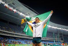 Thiago Braz salto com vara campeão olímpico (Foto: Agência Reuters)