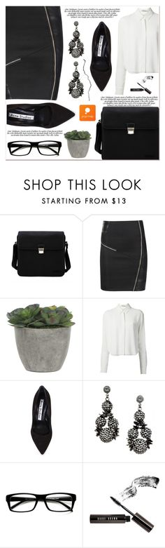 """# III/4 Popmap"" by lucky-1990 ❤ liked on Polyvore featuring Lotuff & Clegg, Lux-Art Silks, T By Alexander Wang, Acne Studios, Bobbi Brown Cosmetics and popmap"