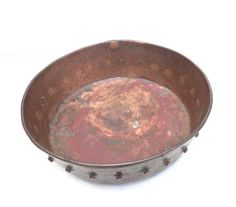 Hey, I found this really awesome Etsy listing at https://www.etsy.com/listing/202873115/antique-copper-bowl-planter-arts-and