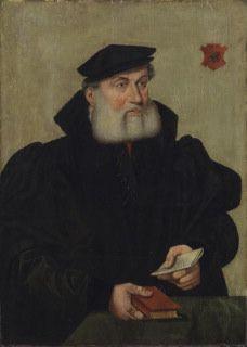 Portrait of Wilhelm Kannengieser, 1550, Barthel Bruyn the Elder, Cologne