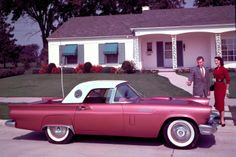 100 Most Beautiful Cars of All Time:  1957 Ford Thunderbird