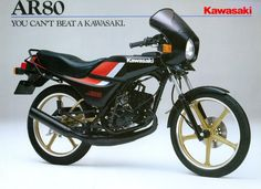Kawasaki AR50 Models overview Thomas Nitert & Ruud ten Heggeler