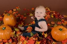 Cutest little guy. Ready for Fall.