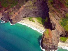 lonely beach - kauai