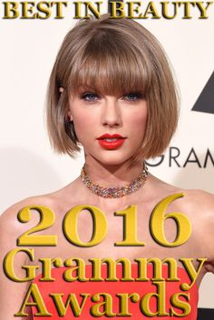 Best in Beauty from the 2016 Grammy Awards Red Carpet