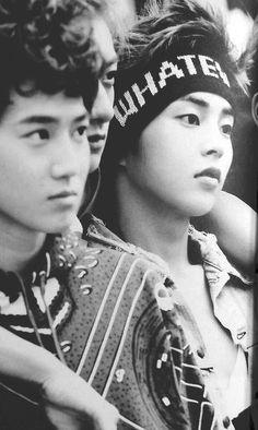 Exo Suho, Tao, and Xiumin