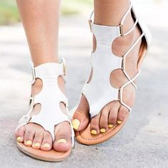Women s straps Roman style flat sandals womens sandals summer sandals summer outfit summer sandals outfit sandals for summer summer shoes sandals sandals summer casual sandals summer comfortable sandals outfits pretty sandals Leather Gladiator Sandals, Flat Sandals, Flat Shoes, Leather Flats, Wedge Shoes, Tong Cuir, Roman Fashion, Slipper Sandals, Leather Flip Flops