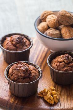 Mini Brownies aux Noix