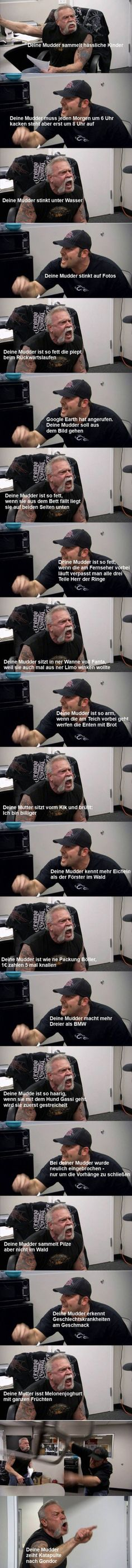 Deine Mudda & Deine Mudda & & Lustiges & Was is hier eigentlich los?de The post Deine Mudda & & Witzig appeared first on Funny . Memes Humor, Funny Dog Memes, 9gag Funny, Funny Texts, Good Morning Funny Pictures, Really Funny Pictures, Humor Mexicano, Wallpapers Funny, Funny Images
