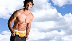 Tim Robards for Aussiebum (2009) #TimRobards #Australian #malemodel #model #fitness #fitnessmodel #Aussiebum #ChadwickModels #TheBachelor #pecs #chest #abs #muscles #underwear #smile