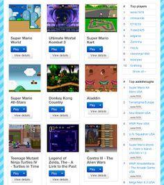 Emulador de SNES online | La Guarida Geek