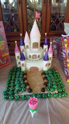 Princess Castle Cake - Cakeball Courtyard