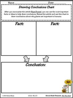 drawing conclusions on Pinterest | Graphic Organizers, Story Structure ...