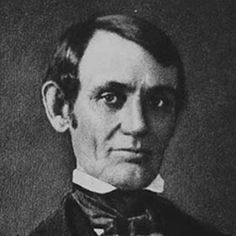 This is the earliest-known photograph of Abraham Lincoln, thought to have been taken in the mid-1840s.