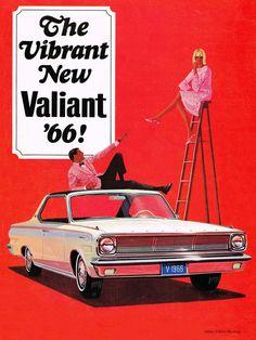 Will Davies, Chrysler Canada Valiant brochure, 1966