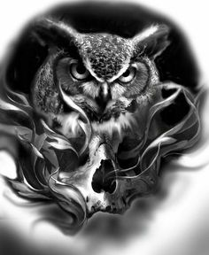 Beautiful Artwork, El and skull illustration Art Tattoo inspiration Tattoo Sketches, Tattoo Drawings, Body Art Tattoos, Sleeve Tattoos, Cool Tattoos, Tatto Skull, Skull Art, Tatuajes Tattoos, Bild Tattoos