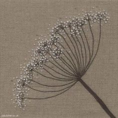 Fennel on Linen - I love this